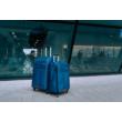 Solier utazó bőrönd M  STL1311 sötétkék-barna