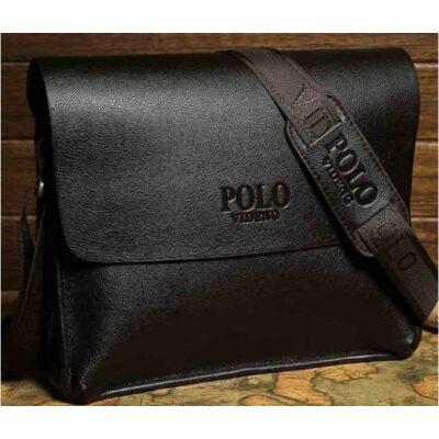 POLO videng bőr férfi táska (nagy) B247