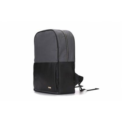 Solier férfi hátizsák SR01 FORRES szürke-fekete