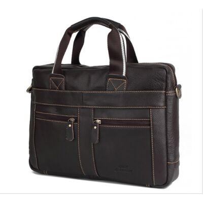 Crossox valódi bőr férfi táska B237