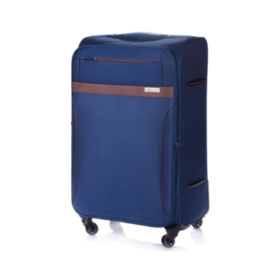 Solier utazó bőrönd M STL1316 sötétbarna