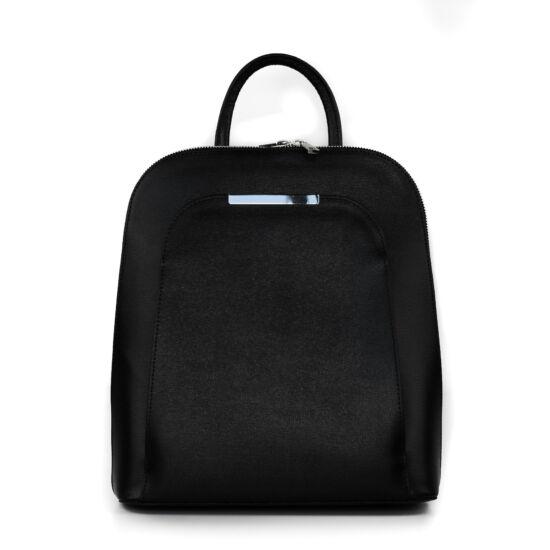 Bőr hátizsák / fekete