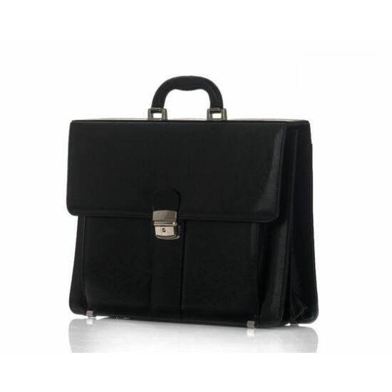 Férfi üzleti táska SOLIER fekete