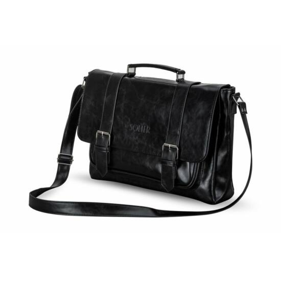 SOLIER férfi utazó táska  S25 fekete