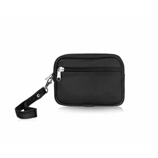 Férfi bőr autós táska MILTON ML47 fekete