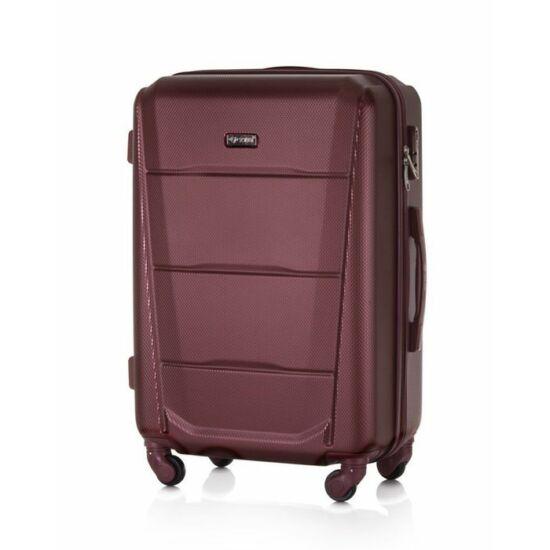 SUITCASE L bőrönd STL946 ABS bordó