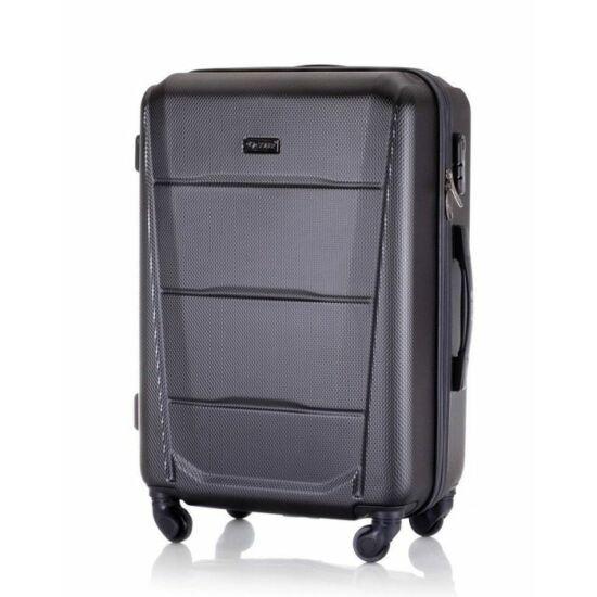 Solier utazó bőrönd, poggyász STL946 ABS sötét szürke