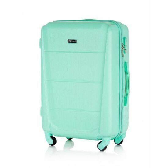 SUITCASE utazó bőrönd M STL946 ABS zöld