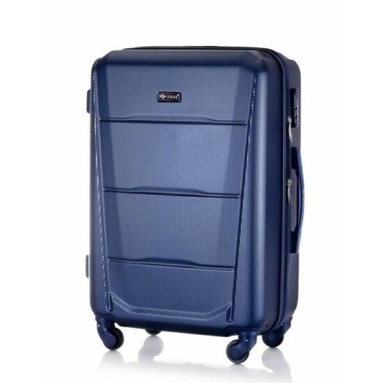 SUITCASE M bőrönd STL946 ABS sötétkék