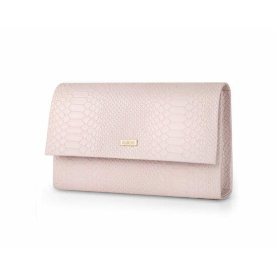 Felice női kis méretű táska  F13G rózsaszín matt