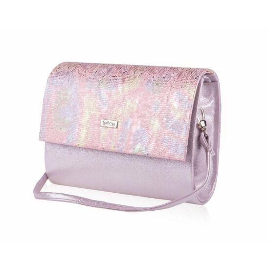 Felice női kis méretű táska világos rózsaszín  F14F