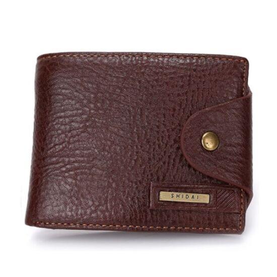 Férfi bőr pénztárca P064