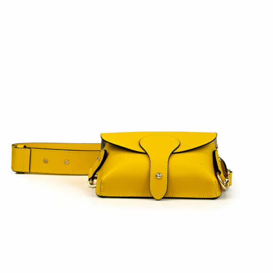 Bőrtáska / sárga