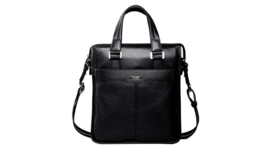 ae8019f2d4e7 P.Kuone valódi bőr férfi táska B283 - Férfi bőr kézi táska, övtáska ...