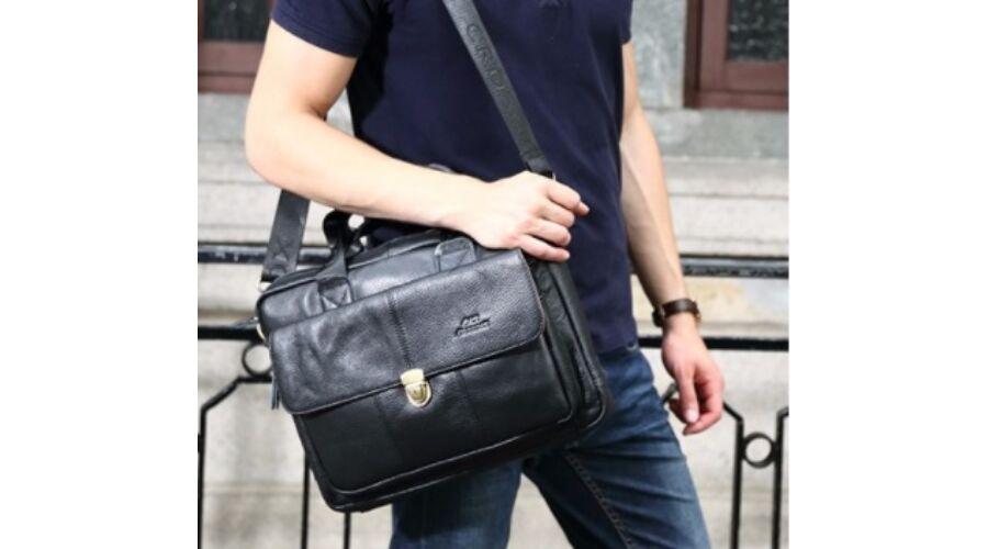 Crossox retro valódi bőr férfi táska B303 - Férfi bőrtáska 872fd6fdd6
