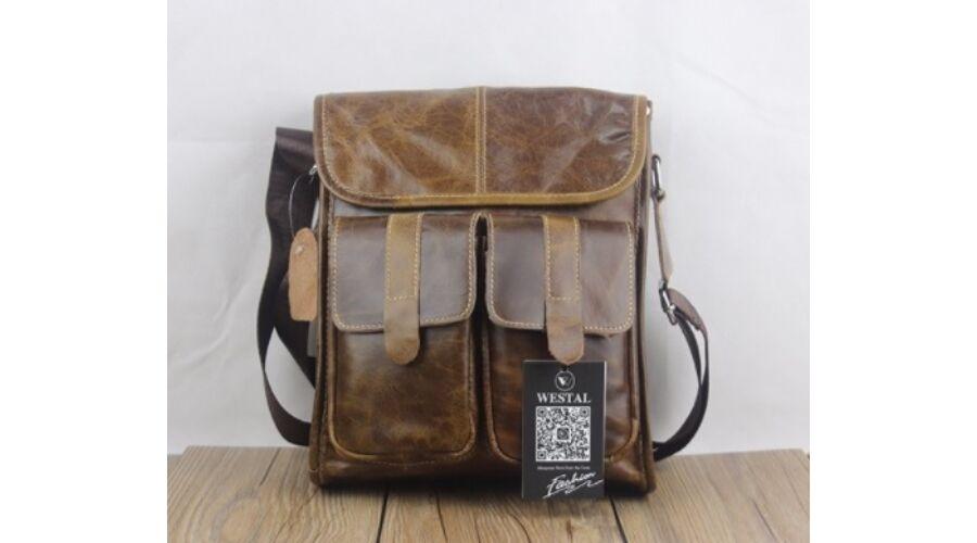 ad9ed25c981a Westal férfi bőr válltáska B293 - Férfi bőr kézi táska, övtáska ...