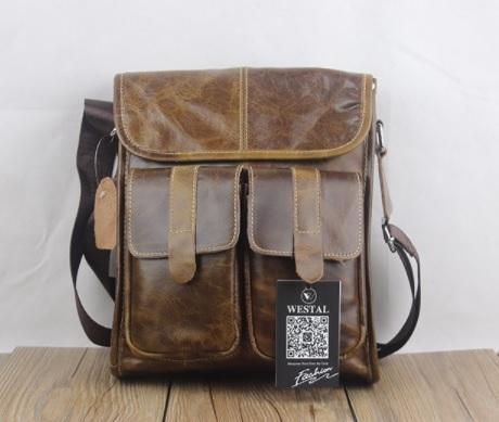 33ccc8b211bb Westal férfi bőr válltáska B293 - Férfi bőr kézi táska, övtáska, válltáska